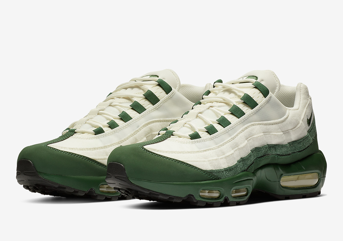 Nike Adds A Sail And Green Air Max 95 To Its Just Do It Collection c90fc67c9
