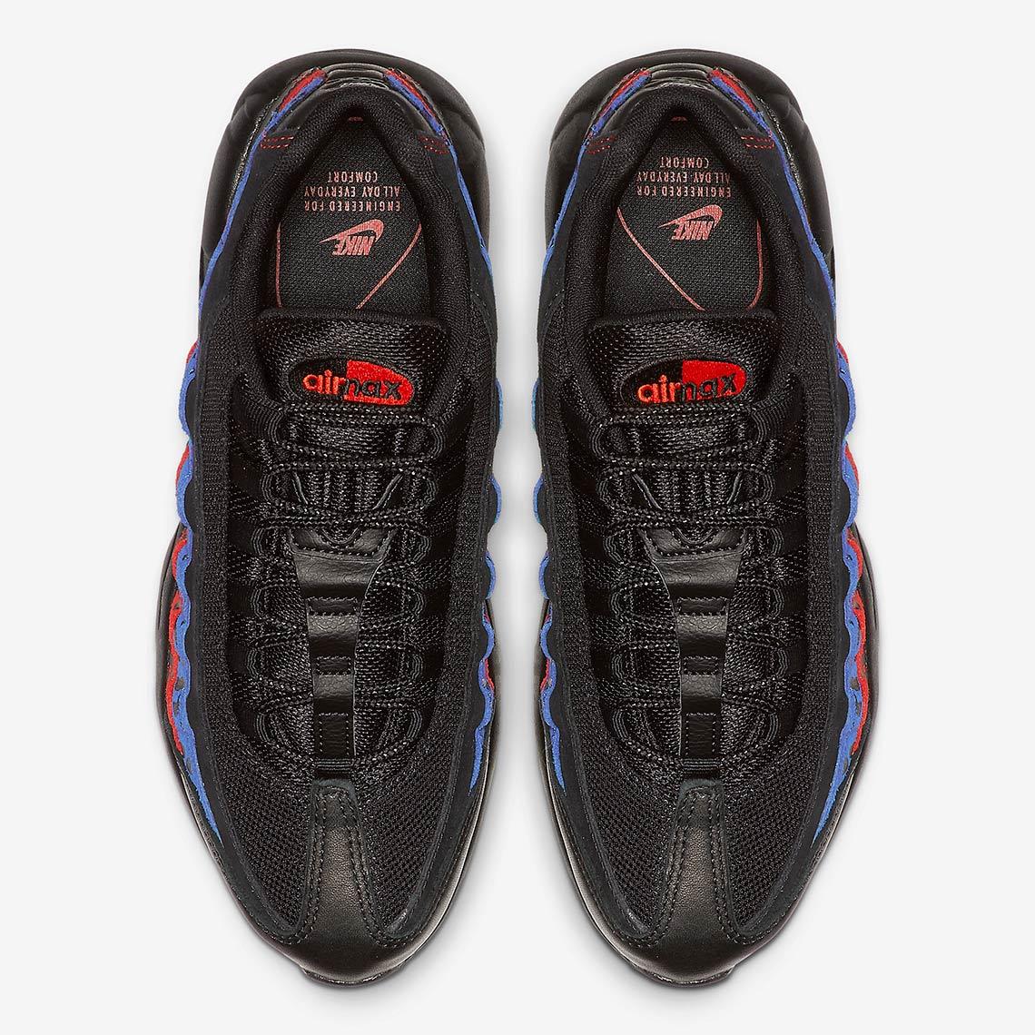 Nike Air Max 95 Leopard Black Blue Red Release Info  1d5fa362b
