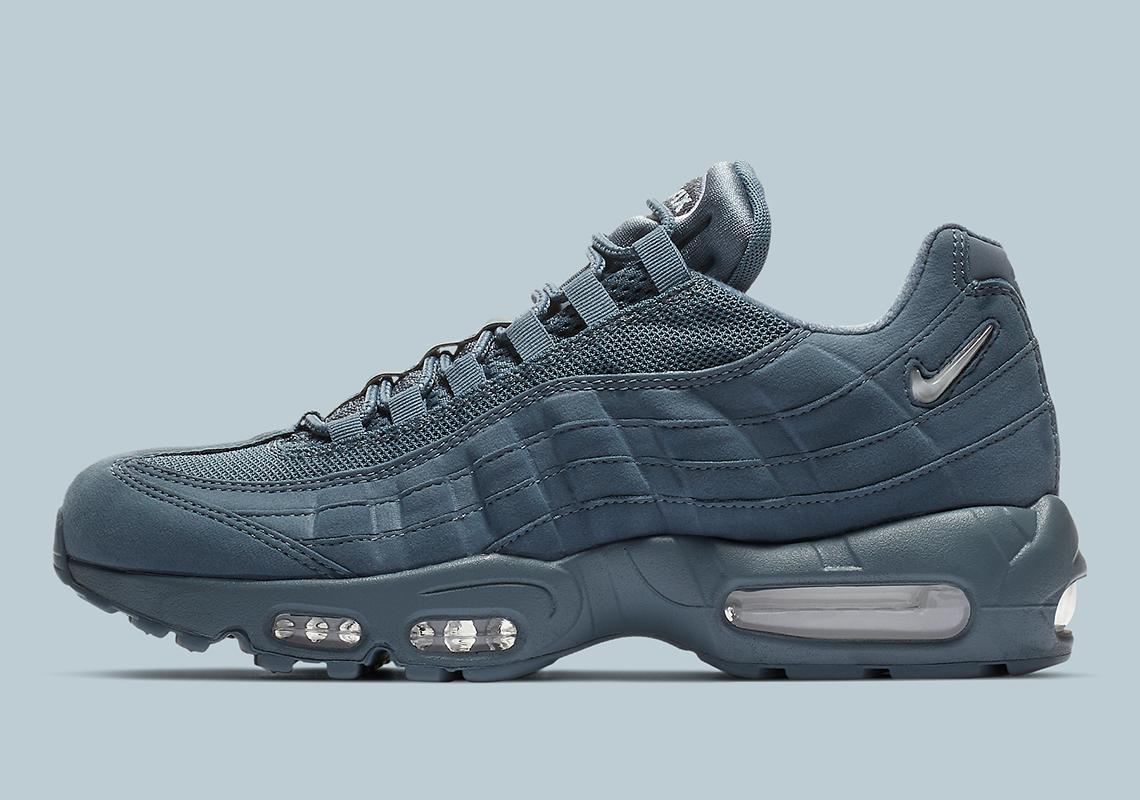 dadebca3fe Nike Air Max 95 All Blue CJ0423-400 Release Info | SneakerNews.com