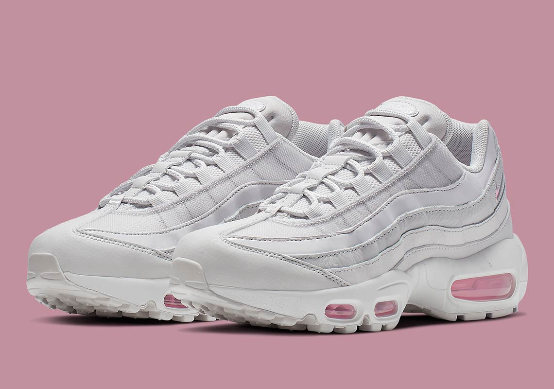 quality to buy low price Nike Air Max 95 Women's White + Pink AQ4138-002 ...