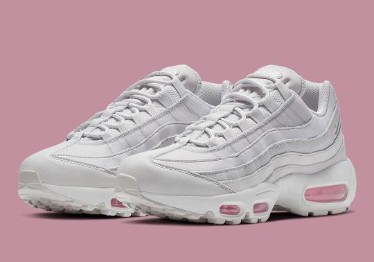 "A Spring-Ready ""Psychic Pink"" Comes To The Nike Air Max 95"