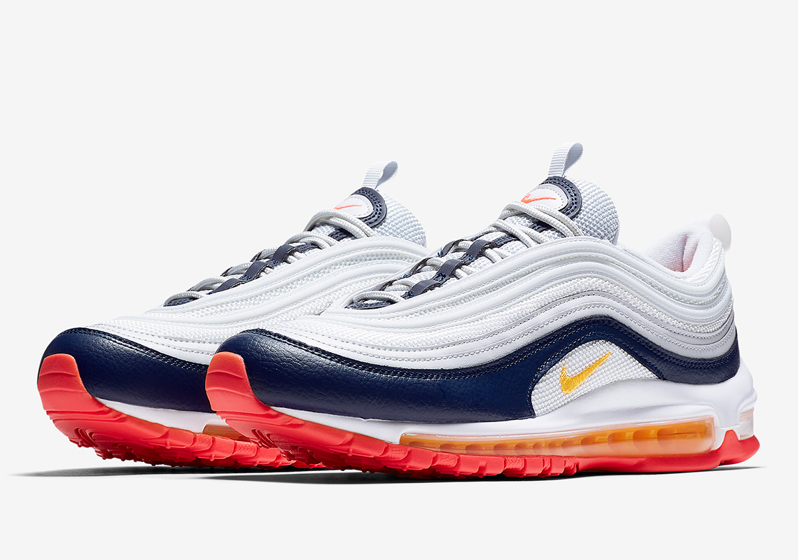 e572e960e957d Nike Air Max 97 In Midnight Navy And Racer Pink Arrives This March