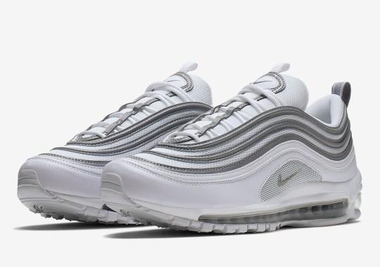 The Nike Air Max 97 Pairs White And Metallic Silver 0f5ba29c4273