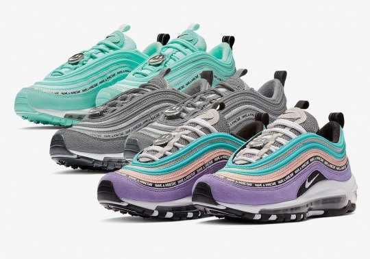 """The Nike Air Max 97 GS """"Have A Nike Day"""" Pack Is Available Now"""