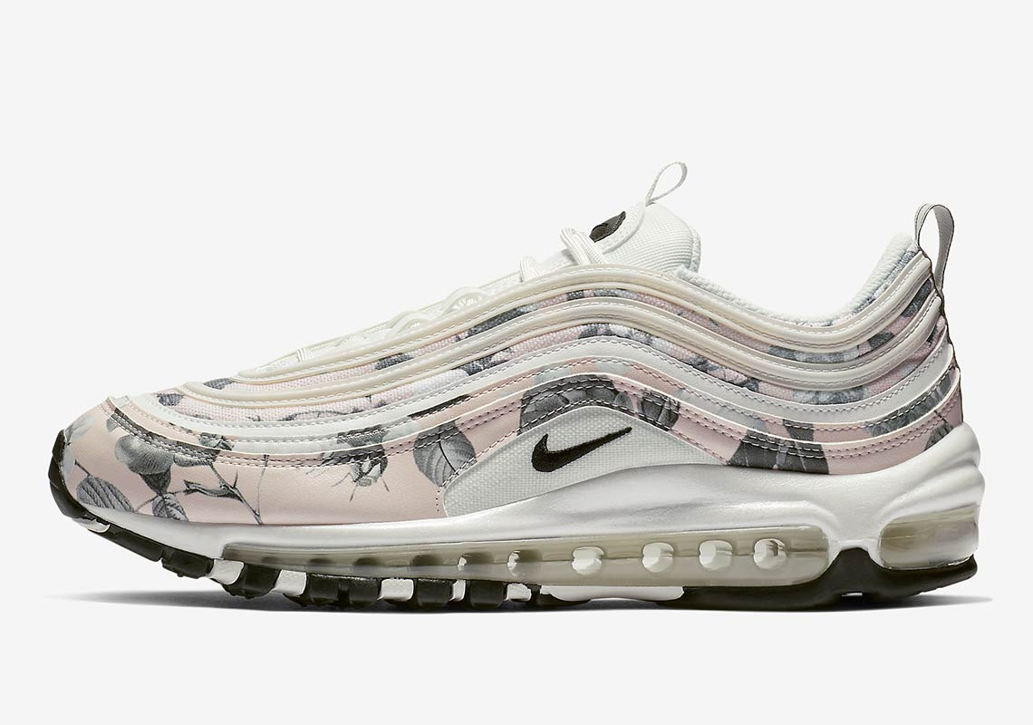 new arrival 8380c 17121 Nike Air Max 97 Women's Floral Pale Pink Release Date ...