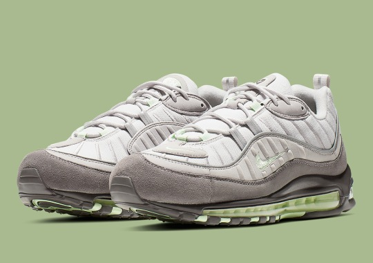 01b6d0a30ce4 Nike Flashes Back To The Year 2000 With This Air Max 98 Colorblocking
