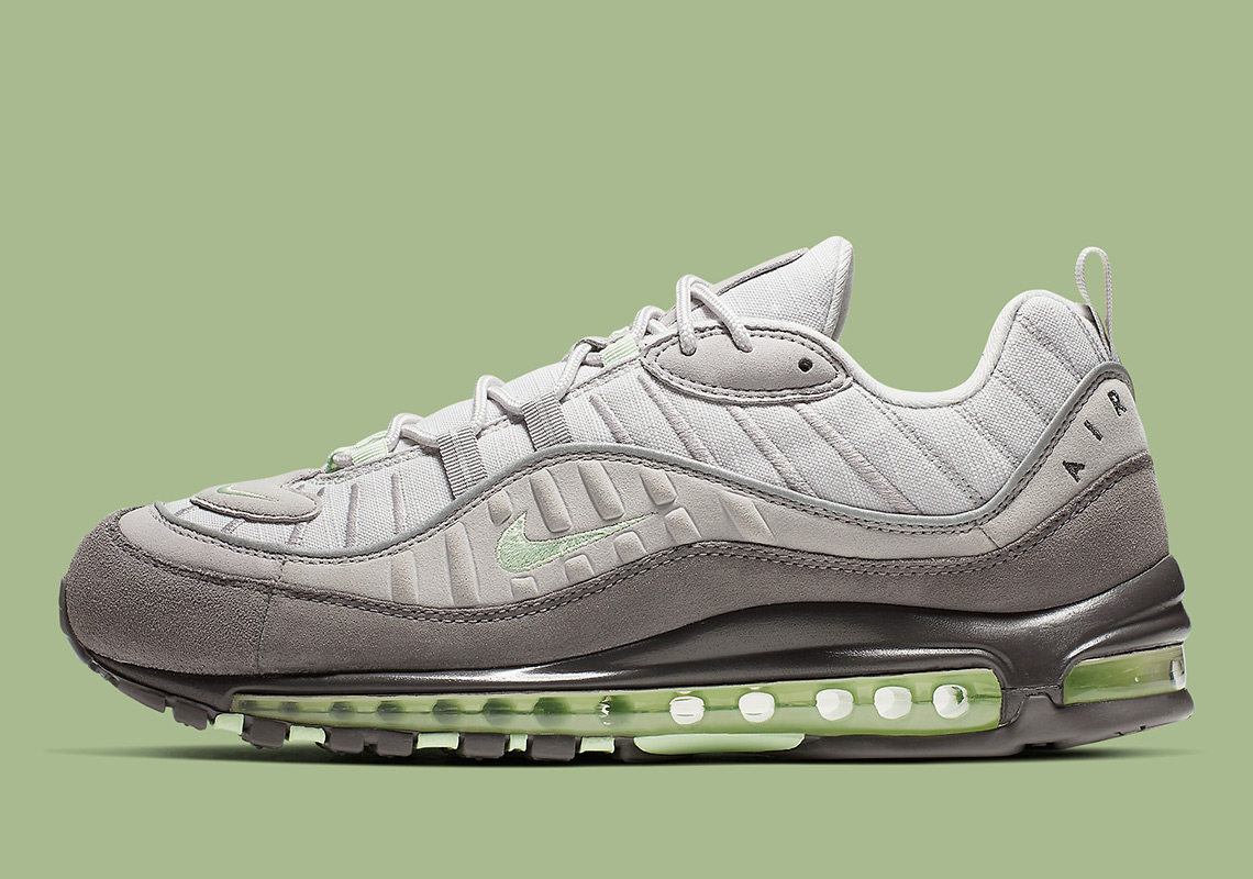 separation shoes bb7b3 7f8a3 Nike Air Max 98. Release Date  May 10th, 2019  160. Color  Vast Grey Fresh  Mint-Atmosphere Grey