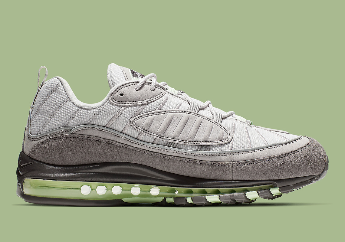 brand new 26eb0 3f176 Nike Air Max 98. Release Date  May 10th, 2019  160. Color  Vast Grey Fresh  Mint-Atmosphere Grey Style Code  640744-011. Advertisement