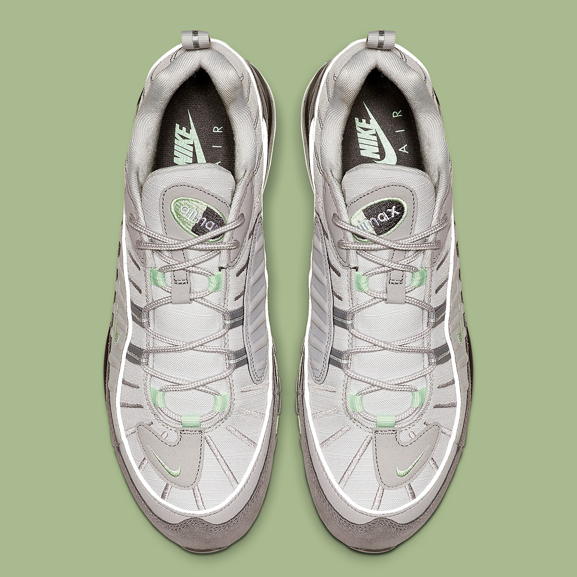premium selection 7971b 1a981 Nike Air Max 98. Release Date  May 10th, 2019  160. Color  Vast Grey Fresh  Mint-Atmosphere Grey Style Code  640744-011. Advertisement. Advertisement