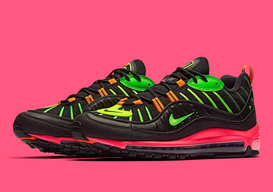 Nike Air Max 98 Highlighter Neon Release Date |