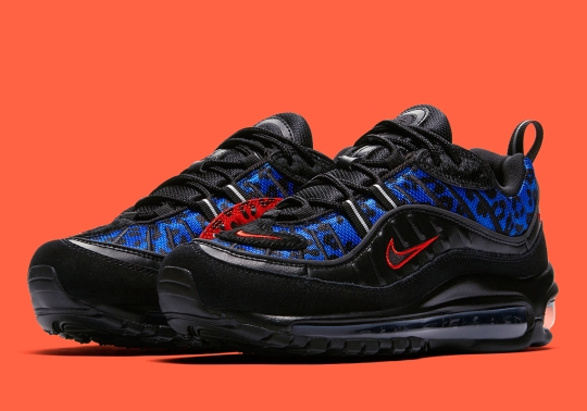 """Nike Gets Premium With The Air Max 98 """"Leopard"""" For Women"""