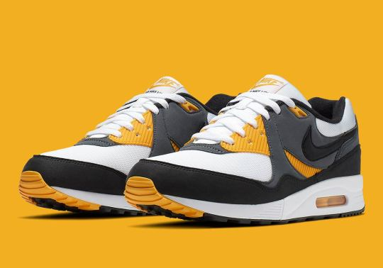The Nike Air Max Light OG Is Coming Soon With Gold Accents