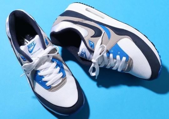 The Nike Air Max Light Returns In The OG Blue