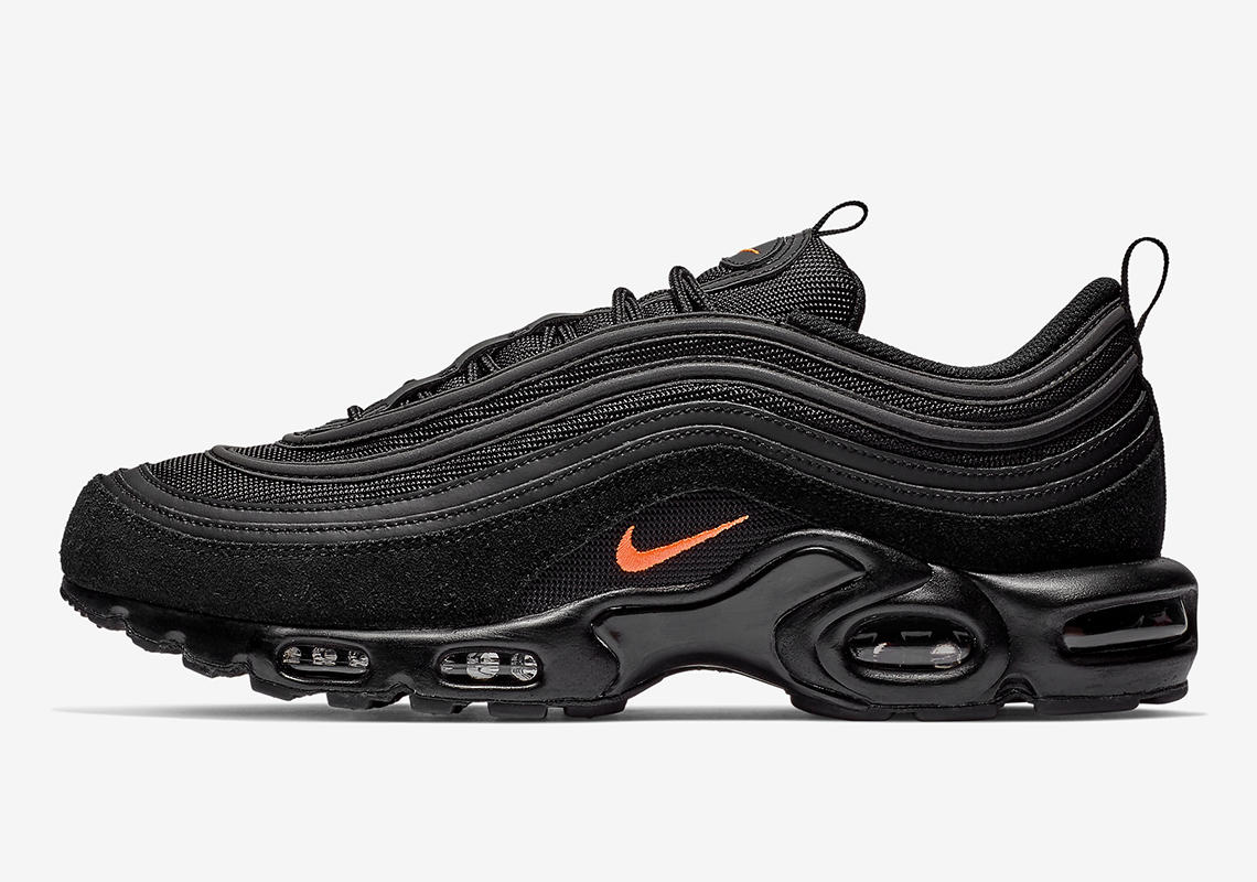 low priced 2a812 c2b60 The Nike Air Max Plus 97 Returns In Black And Orange