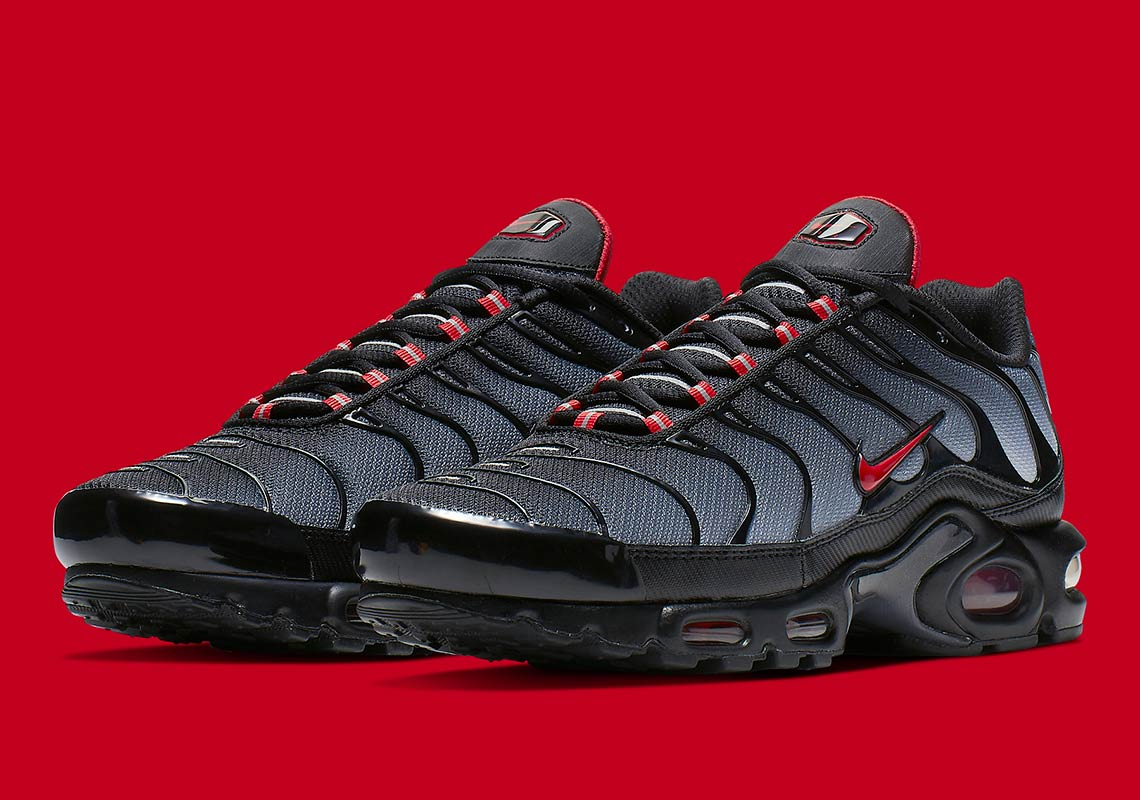 Nike Air Max Plus Black Grey Red CI2299 001 Info