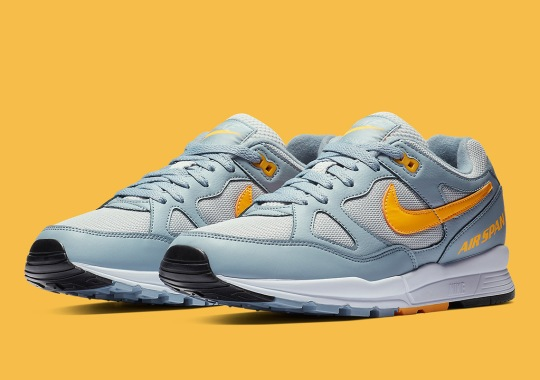 The Nike Air Span II Is Back In Clean Grey And Yellow