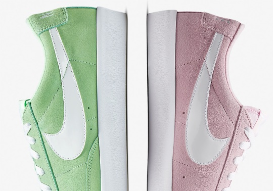 Nike Readies The Blazer Low Premium With Pastel Tones