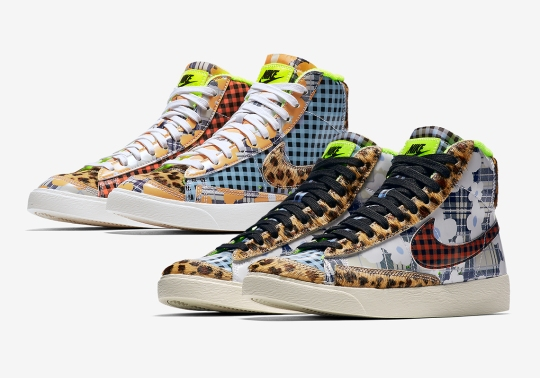 The Nike Blazer Mid Gel Adds A Wild Array Of Prints