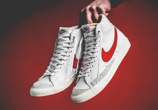 "The Nike Blazer Mid Vintage '77 ""Habanero Red"" Drops In Europe On February 14th"
