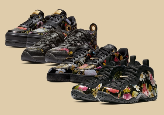 Nike Goes Full Floral With Their Sportswear Collection For All-Star