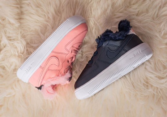 These Toddler Nike Air Force 1s Get Lavish For Valentine's Day