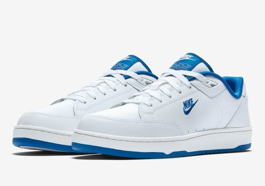 Nike Drops The Grandstand II Tennis Shoe In Clean Colors