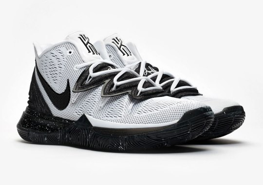 """Nike Kyrie 5 """"Cookies And Cream"""" Drops This Friday"""
