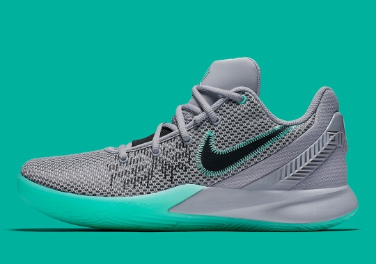 "online retailer 4b4a5 0b511 The Nike Kyrie Flytrap II Gets The ""Green Glow"""