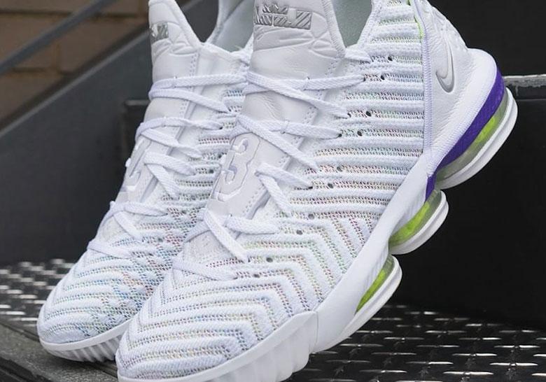 e195593a18cfb Nike LeBron 16 Buzz Lightyear AO2588-102 Release Date | SneakerNews.com
