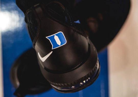 The Duke Blue Devils Show Off A LeBron 16 PE