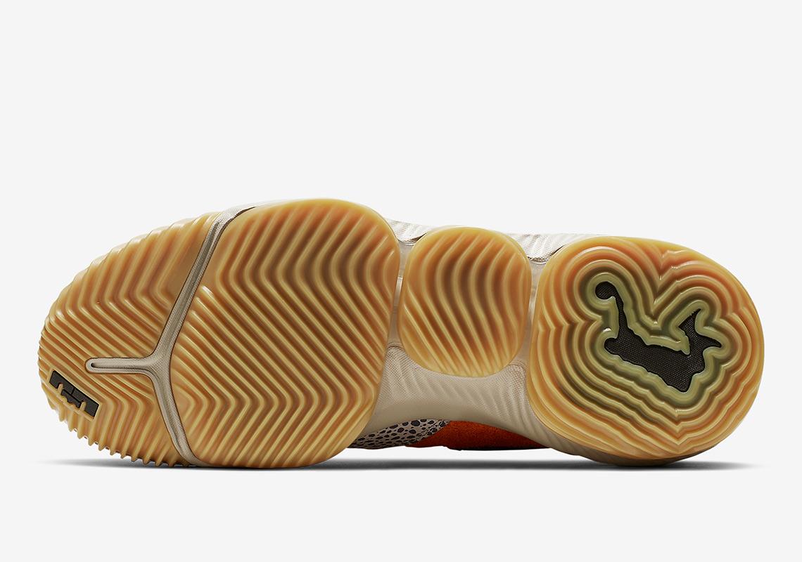 pretty nice e398a dca26 Nike LeBron 16 Low Safari CD9471-800 Release Info   SneakerNews.com