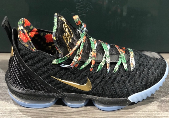"""Nike LeBron 16 """"Watch The Throne"""" Releasing During All-Star Weekend"""