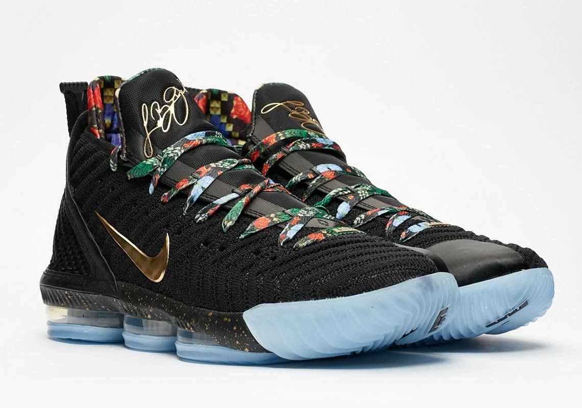 info for 39078 eac67 Nike LeBron 16 Watch The Throne Store List CI1518-001   SneakerNews.com