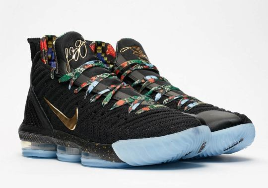 "Where To Buy The Nike LeBron 16 ""Watch The Throne"""