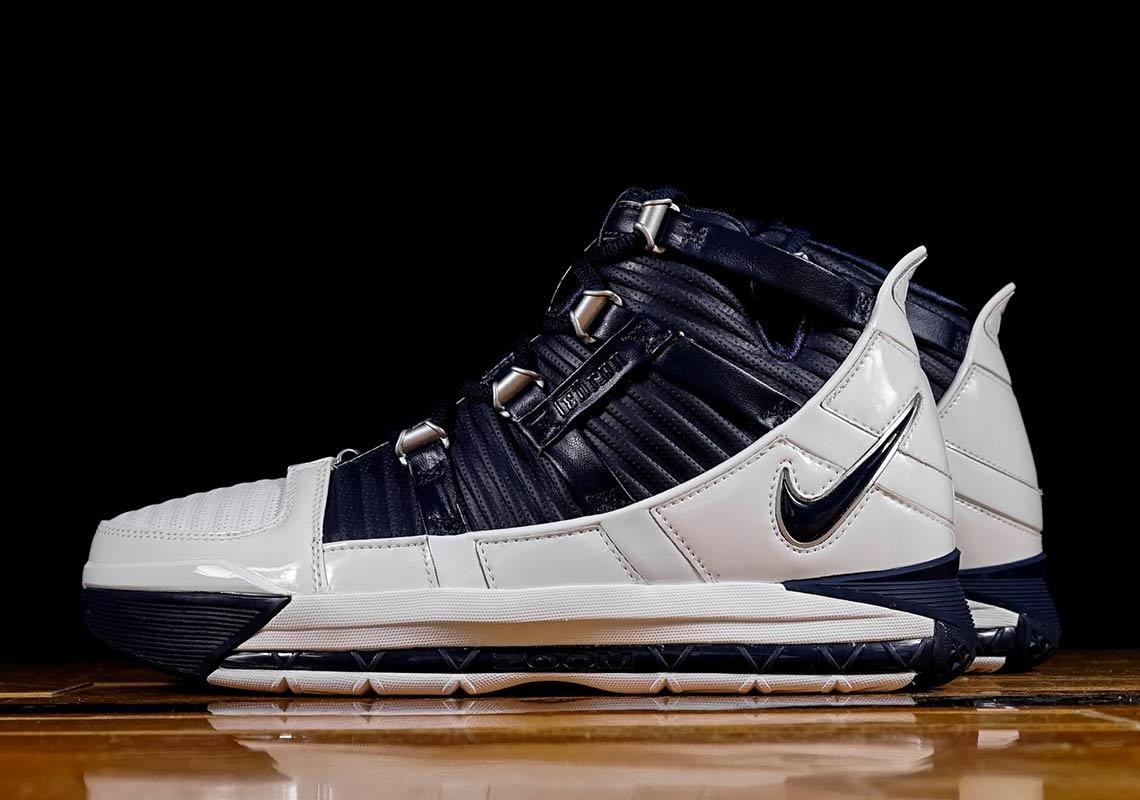 77e1e83ad525c Nike Zoom LeBron 3 Navy OG AO2434-103 Store List