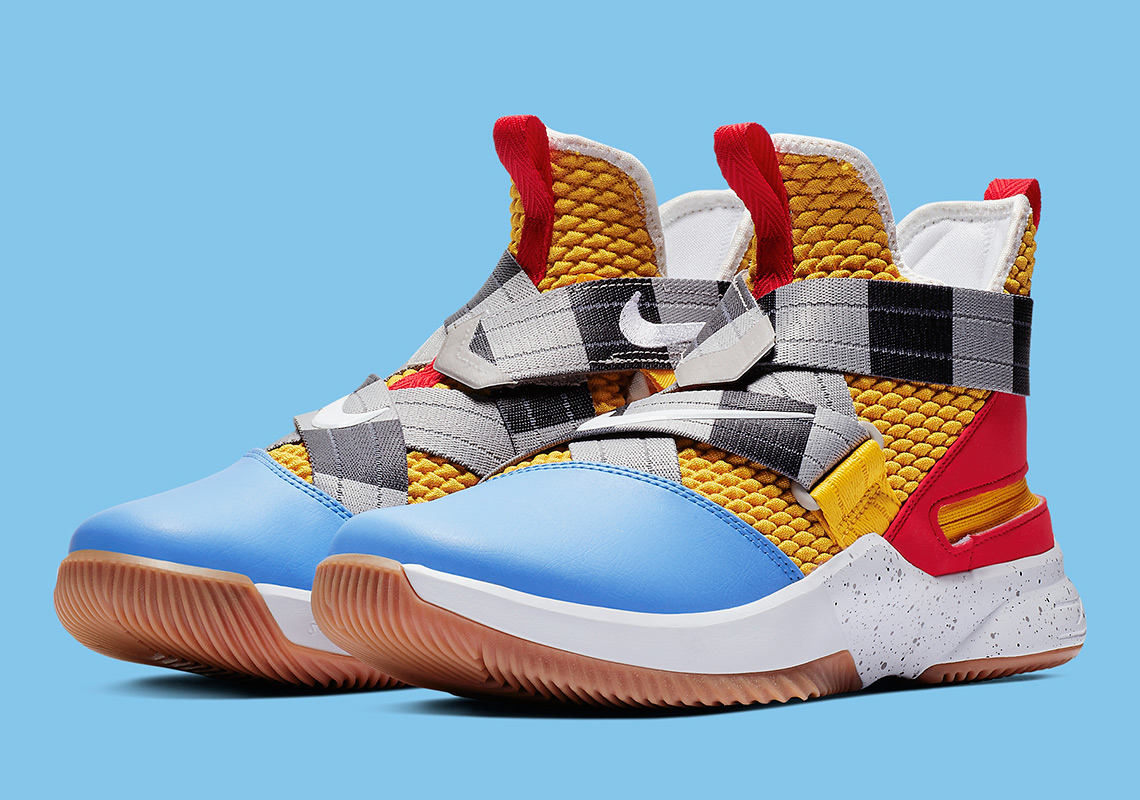 02c4a3bc219e Toy Story s Woody Appears On The Nike LeBron Soldier 12