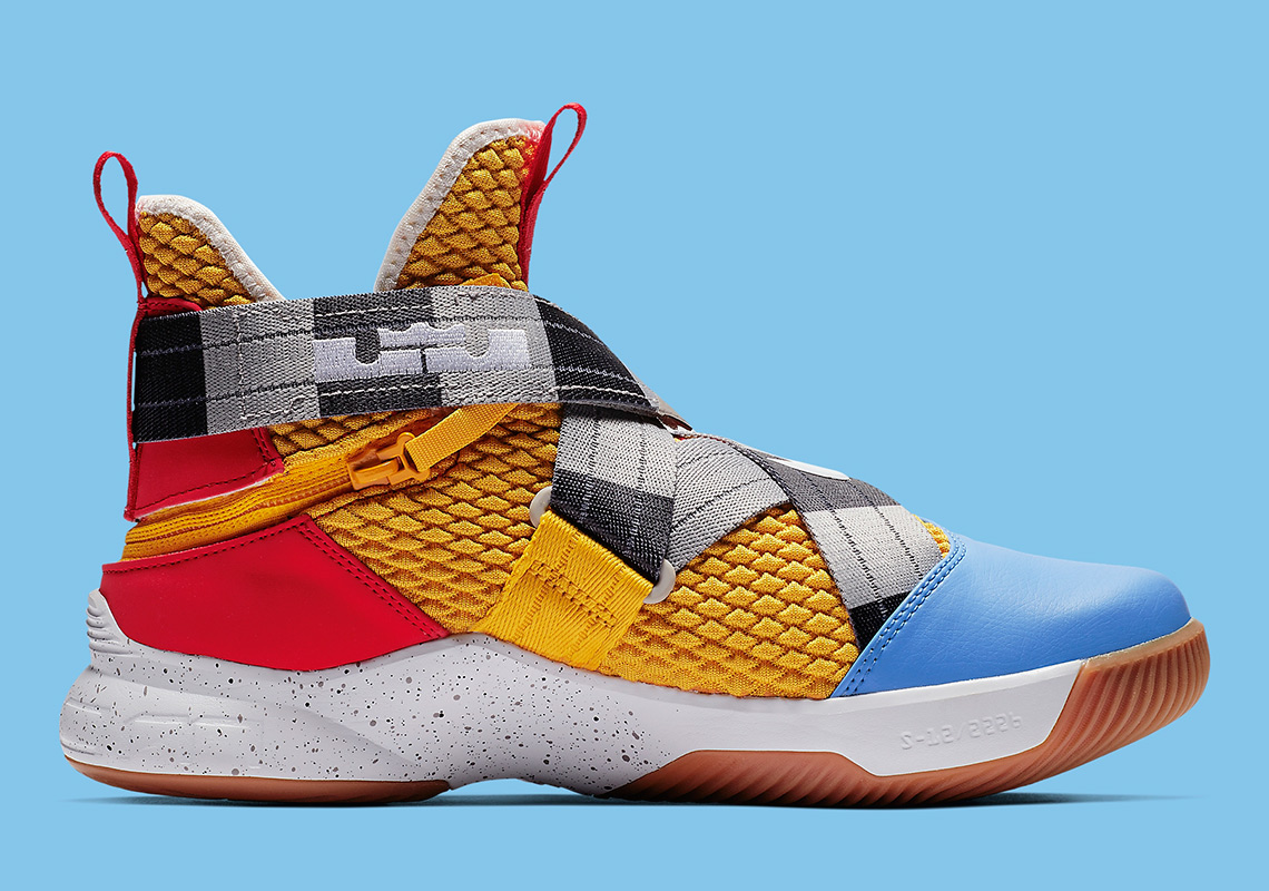 quite nice c7f28 a3c36 Nike LeBron Soldier 12 Toy Story AV3812-700   SneakerNews.com