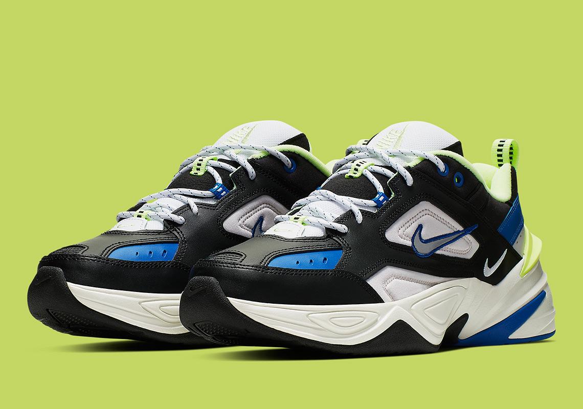 a489b0d86ba0 Nike M2K Tekno Royal + Volt CI2969-002 Release Info | SneakerNews.com