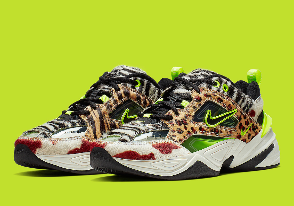 "The Nike M2K Tekno ""Animal Pack"" Features Translucent Uppers"