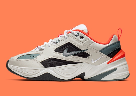 best service d548f 1bbf5 Orange And Olive Appear On Nike s Popular M2K Tekno