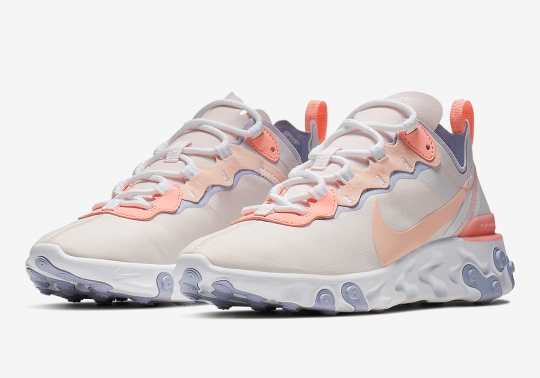 """Nike React Element 55 """"Pale Pink"""" Is Coming Soon"""