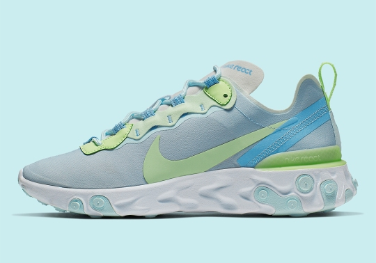 """Nike React Element 55 """"Frosted Spruce"""" Is Coming Soon For Women"""
