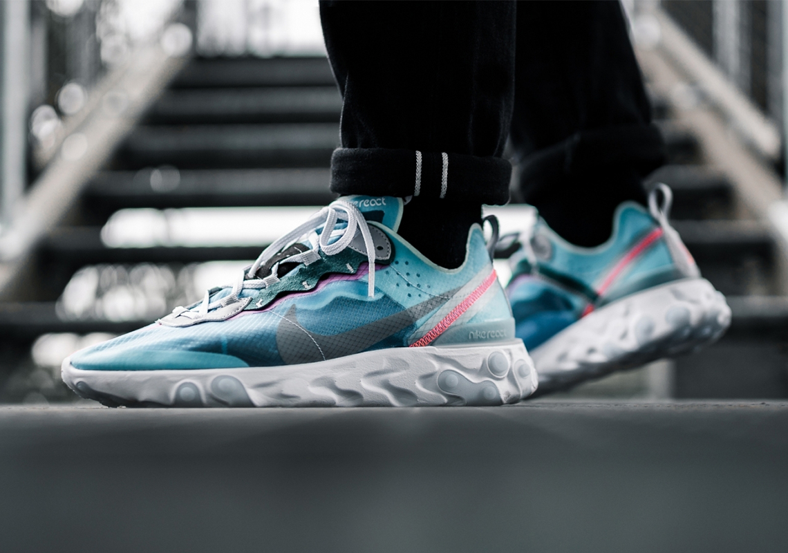 09cc016780bf Nike React Element 87 Royal Tint AQ1090-400 Store List
