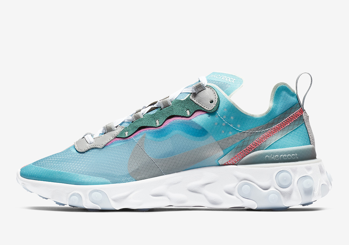 "0c2fca44a3a6 Nike React Element 87 ""Royal Tint"" React Element 87 Store List Release  Date  February 15th"