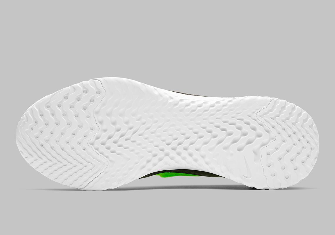 92fa85903ce9ce Nike Rise React Flyknit Lime Blast AV5554-330 Info
