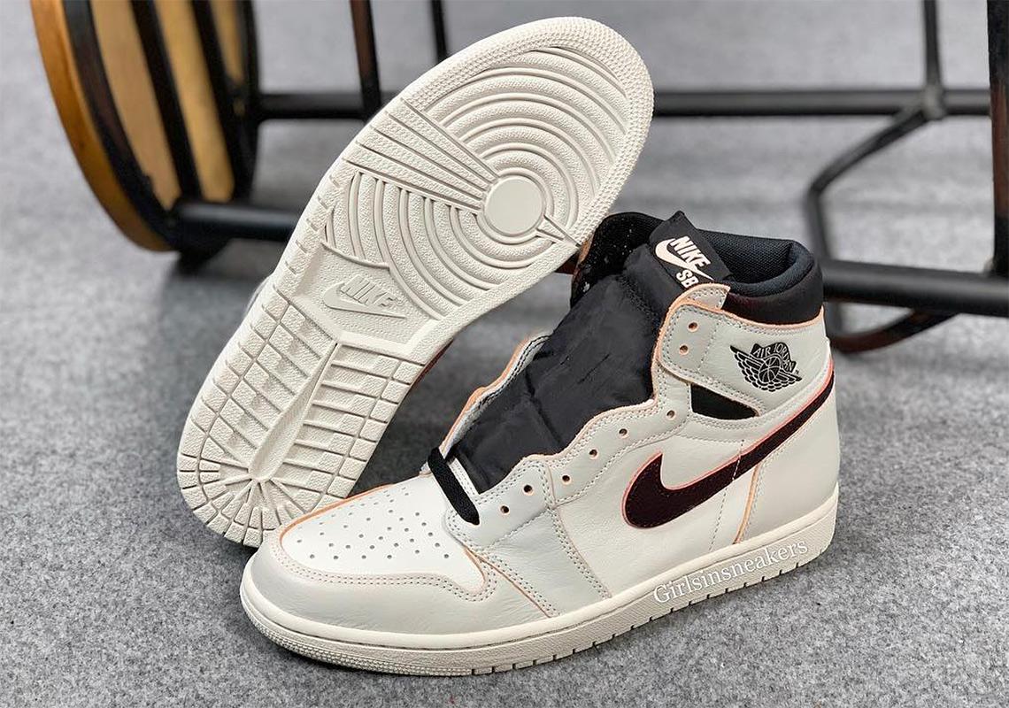 Nike SB Air Jordan 1 Light BoneCrimson Tint CD6578 006