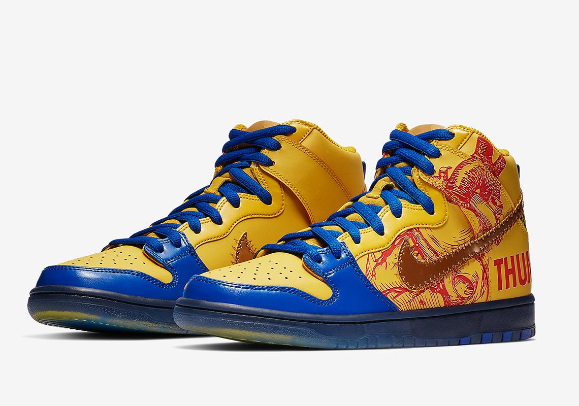 half off b1b95 0eed4 Nike SB Dunk High Doernbecher 579603-740   SneakerNews.com