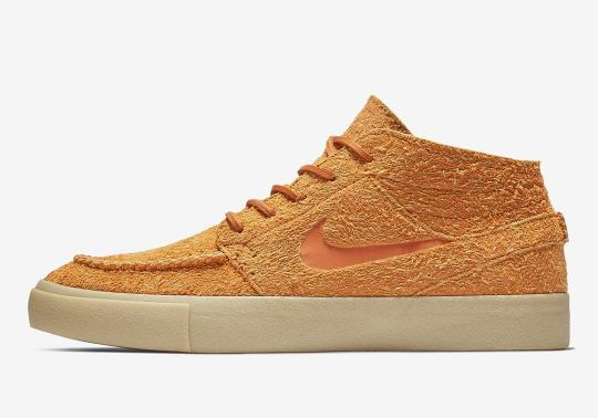 The Nike SB Stefan Janoski Mid Crafted Is Coming Soon In Orange Suede