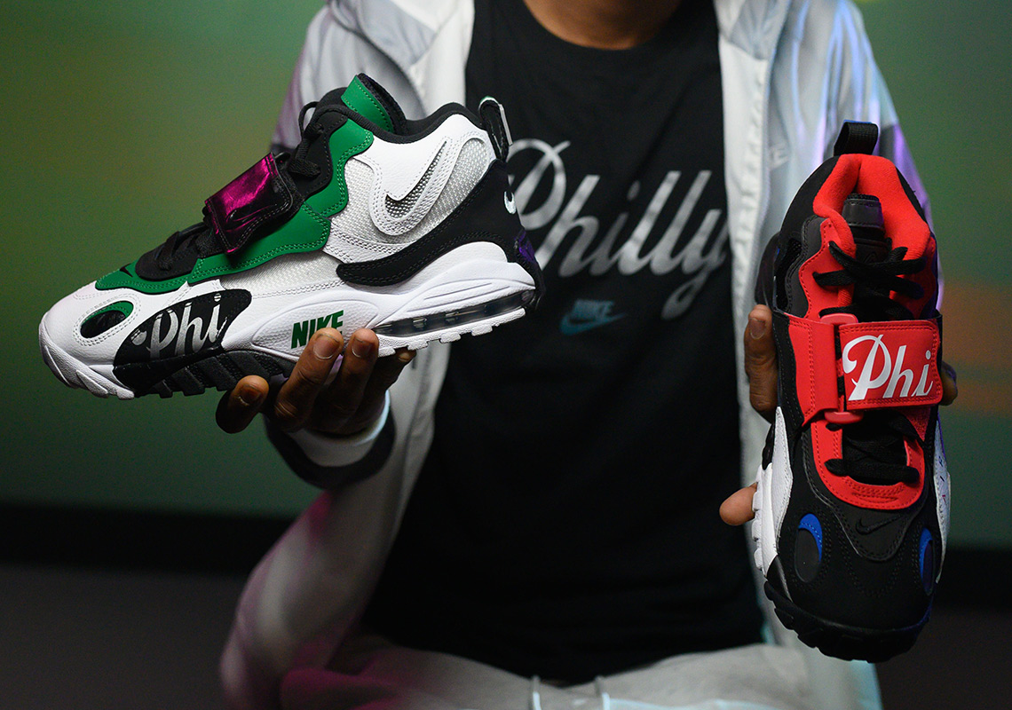 huge discount 96631 2aa5e Nike And Foot Locker Celebrate Philly With Latest Home And Away Pack