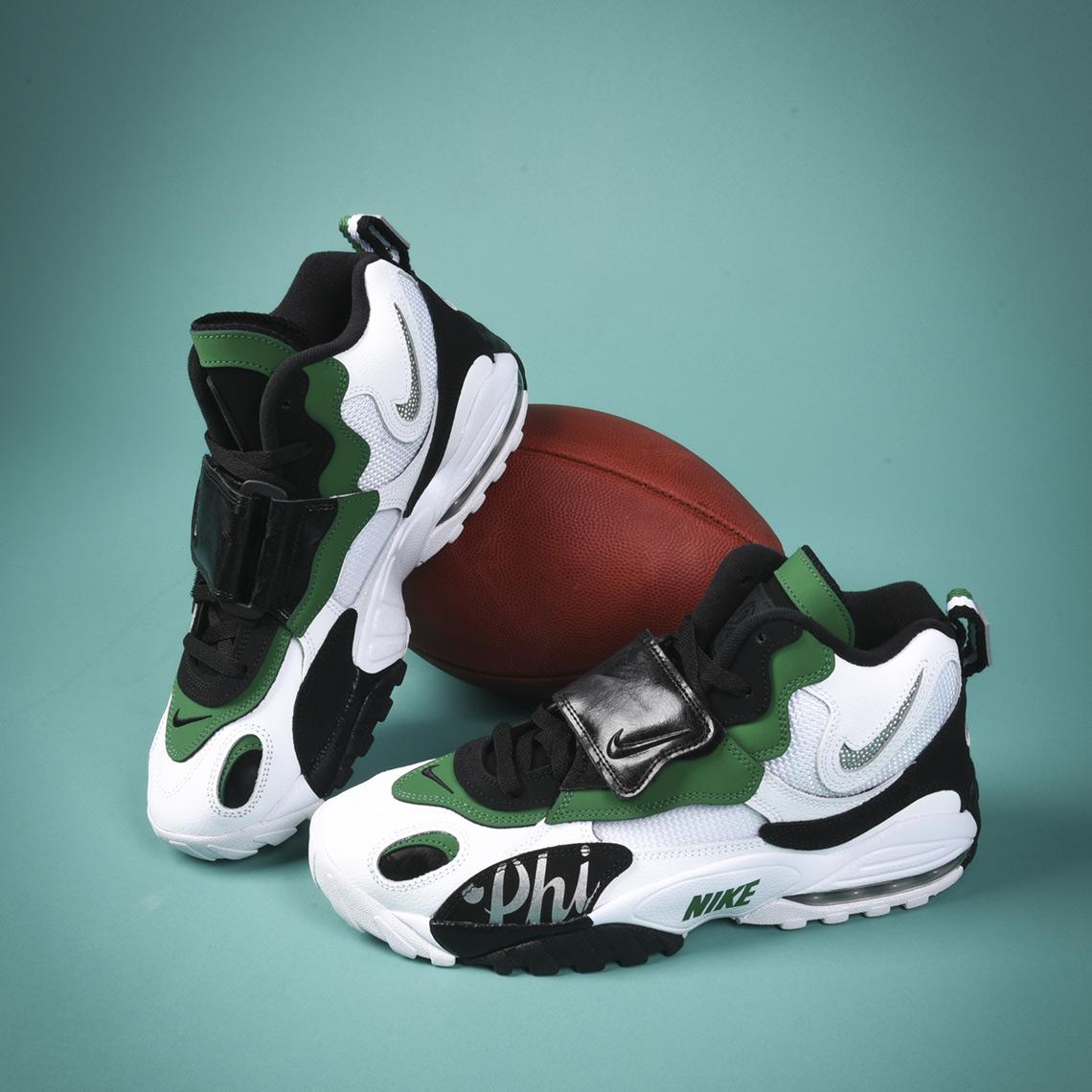 ada3396aa6f Nike Speed Turf Max  150. Color  White Metallic Silver Pine Green Black